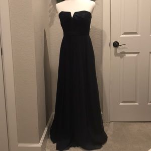 J. Crew Marbella absolutely stunning black gown